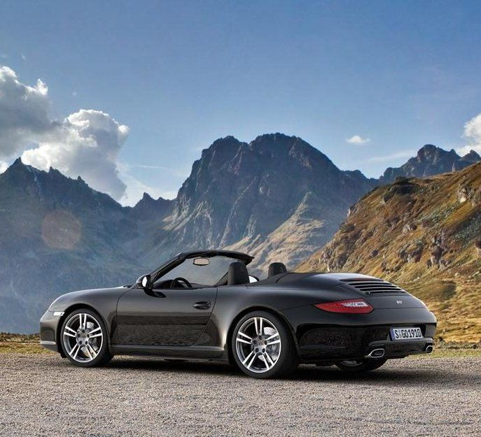 porsche 911 997 black edition cabriolet only cars and cars. Black Bedroom Furniture Sets. Home Design Ideas